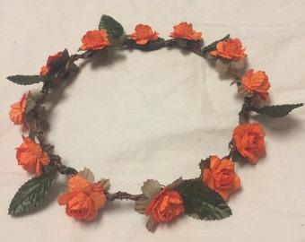 Flower Crown (Orange)