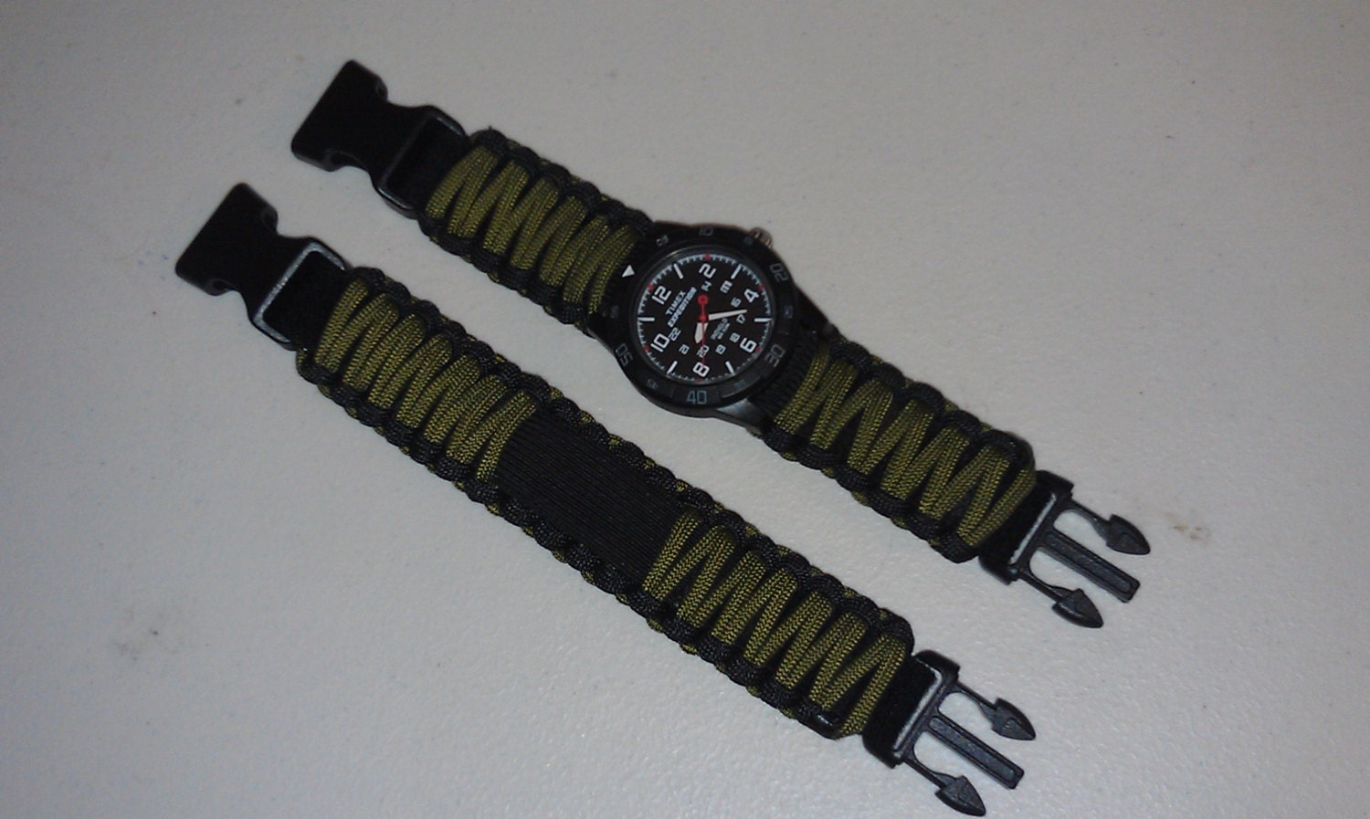 Survco Tactical Replacement Watch Band Adjustable Survival