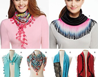 Misses' Scarves Simplicity Pattern 1127