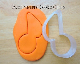 Music Note Cookie Cutter N3 - Quaver Cookie Cutter
