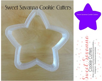 Star Cookie Cutters - Chubby Star Cookie Cutter