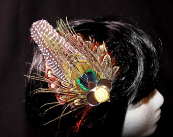 Feather Hairclips