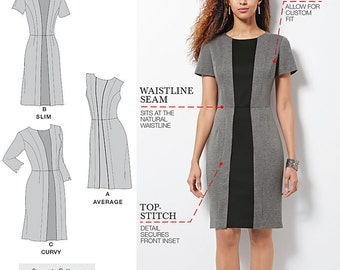Simplicity Pattern 1060 Misses / Women's Dress