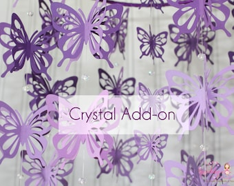 Add Crystals to any mobile of your choice, including custom orders