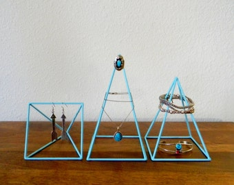 Geometric Sculptures - Set of 3 Pyramids - Made to Order