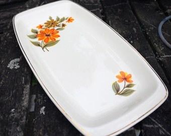 Vintage 1960's Serving Plate