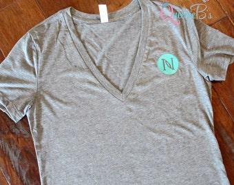 Nerium V- Neck Tee