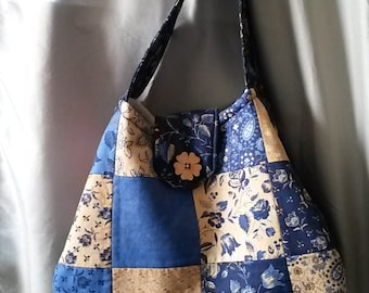 Shoulder / Hobo Bag/ Also in Seahawk Fabric