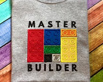 Master Builder Applique Embroidery Design