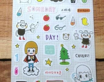 Someday sticker