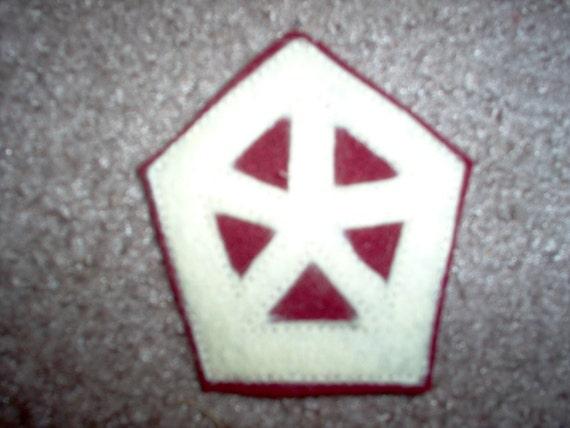 Us world war 2 artillery patches