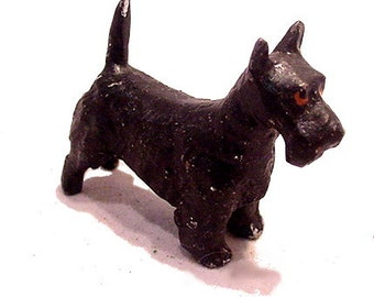 1920s Lead Germany Scottish Terrier Dog