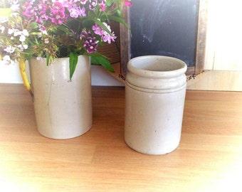 Vintage Stoneware/ Jam / Preserve Pot