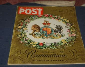 Picture Post 6th June 1953 - Special Coronation Souvenir Number