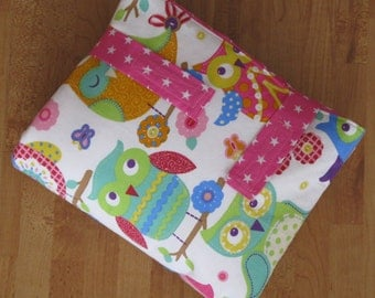 Changing pad, Owl with terry-lying area
