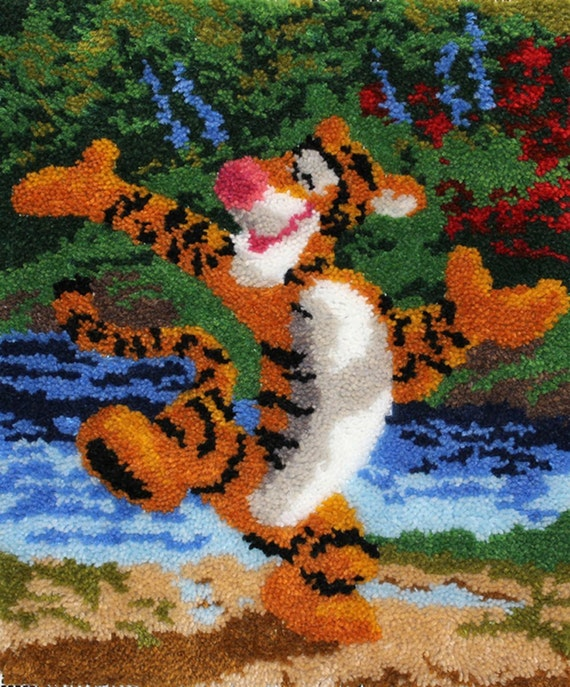 Disney Dreams Winnie The Pooh Tigger Rug Latch Hook Kit Mcg