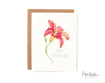 Mother's Day Card - Lily