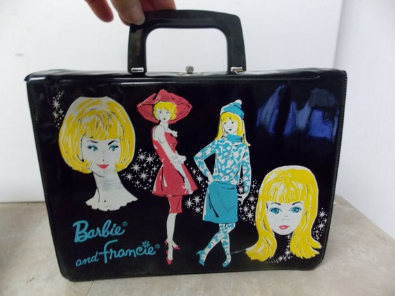 Barbie and Francie Mattel 1965 Vinyl Lunch Box
