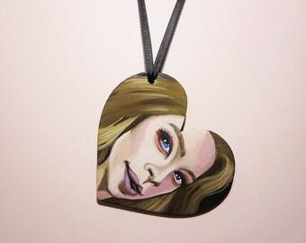 Grav3yardgirl | Hand Painted Ornament