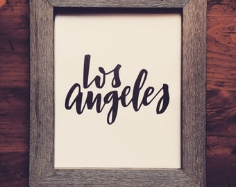 Los Angeles Printable Instant Download