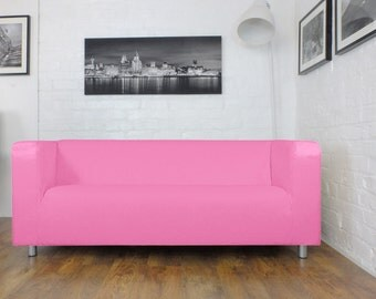 slip cover for ikea klippan 4 seat sofa in by hipicainteriors. Black Bedroom Furniture Sets. Home Design Ideas
