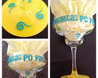 Margarita - Margarita Glass, Custom Margarita, Personalized Margarita Glass, Cute Margarita Glass