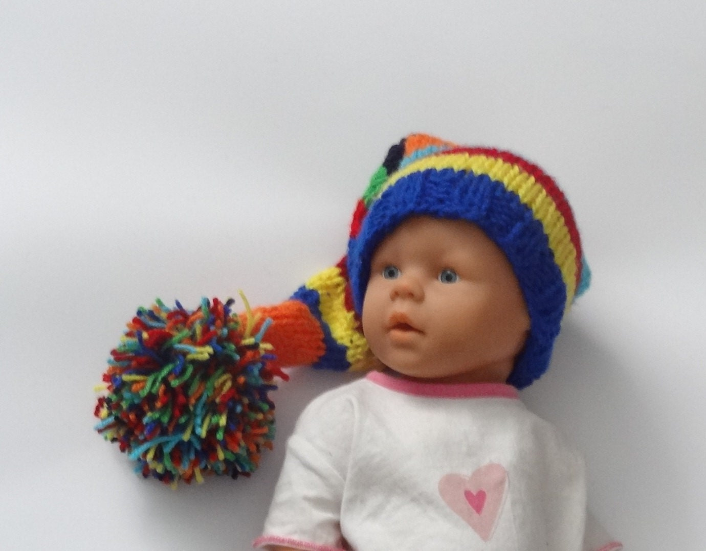 Baby Gnome: Newborn Photo Prop / Baby Elf Hat / Gnome Hat / By