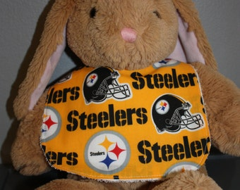 Pittsburgh Steelers Baby Gift Set Bib, Burp Cloth