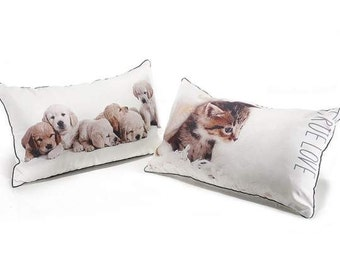 Pillow Printed Puppies