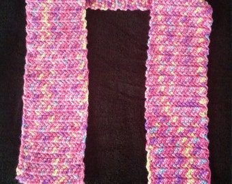 Child's Handmade Scarf - You pick the colors!