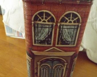 Vintage Century Resourses, Inc Tin Brick House Tin Box
