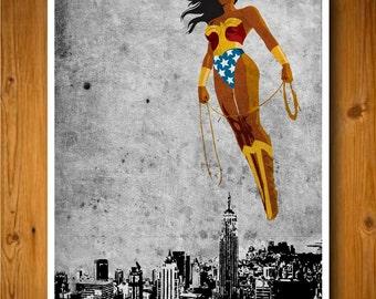 Justice League - Wonder Woman Poster