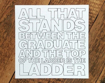 Graduation Card; Card For Graduate; Graduates Cards; University Card; Graduating Card; GC316
