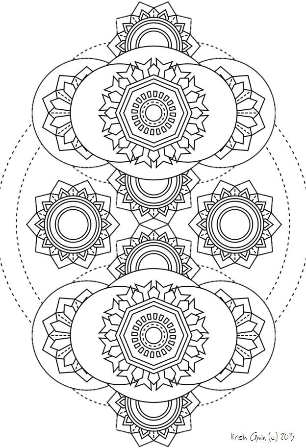 intricate mandala coloring pages - photo#32