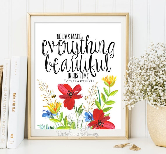 religious home decor housewarming gift quote painting