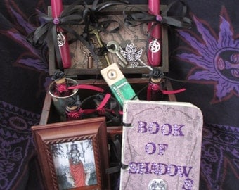Hekate,Hecate Box, Spell Box,Alter Box, Spell Kit