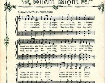 Silent Night Print