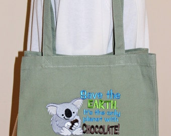 Save this Earth It's the only Planet with Chocolate