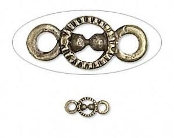 Metal - Antique Bronze - 11x5mm Link - Pack 20