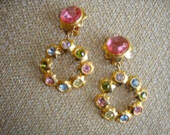 Vintage 90's Statement Earrings