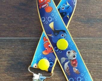 Ocean Friends Pacifier Clip