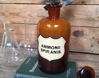 SALE- Vintage Chemistry Bottle