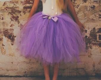 Girl's Purple/Lavender Tutu Skirt