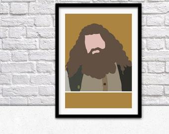 Hagrid Poster - Harry Potter Movie Poster