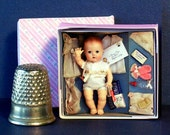 Candy Fashion Doll 1960's Tiny Tears Layette Doll Box