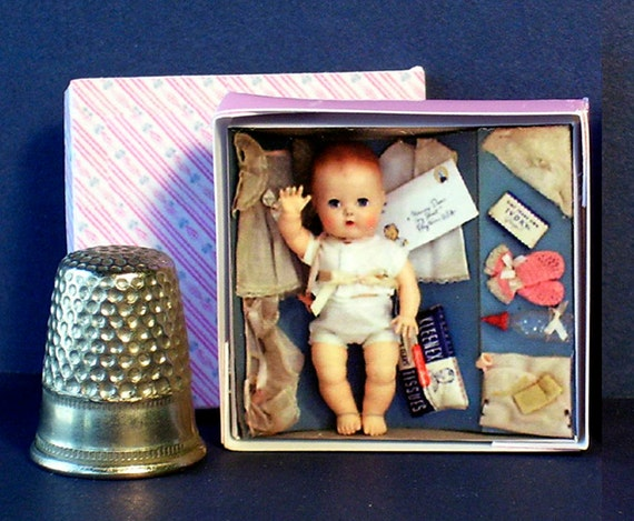 Toys And Tears : Tiny tears layette doll box s dollhouse miniature