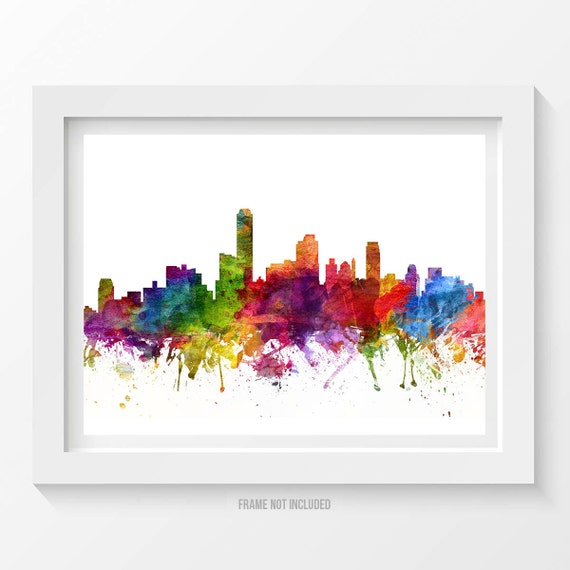 Adelaide poster adelaide skyline adelaide cityscape for Home decorations adelaide