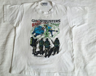Vtg 80s Kids GHOSTBUSTERS 2 Shirt