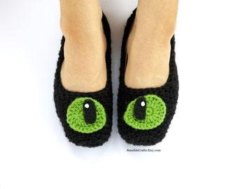 Children's Dragon Slippers UNISEX // Crochet Fandom