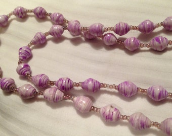 Handmade Bead Necklace - Style 6